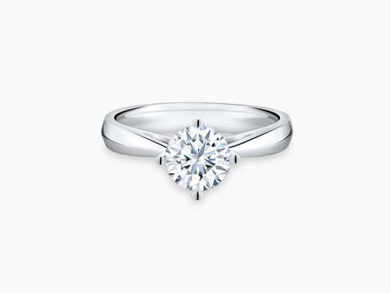 1 carat diamond ring price