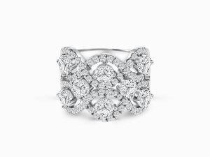 Diamond Earrings, Diamond Necklace