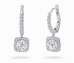 Diamond Necklace, Diamond Earrings