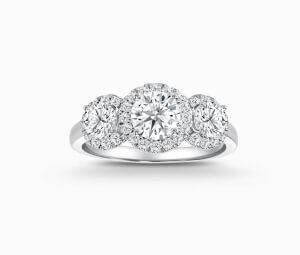 Diamond Necklace, Diamond Earrings