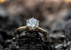 Earth Mined Diamonds, Engagement Ring